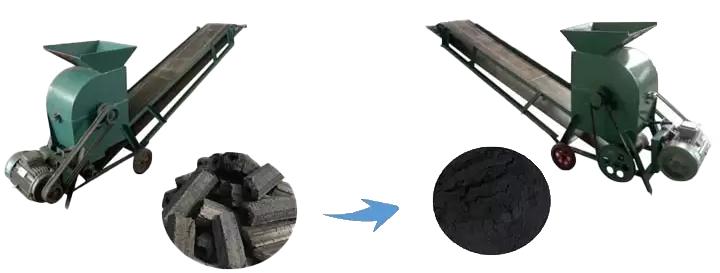 charcoal crusher